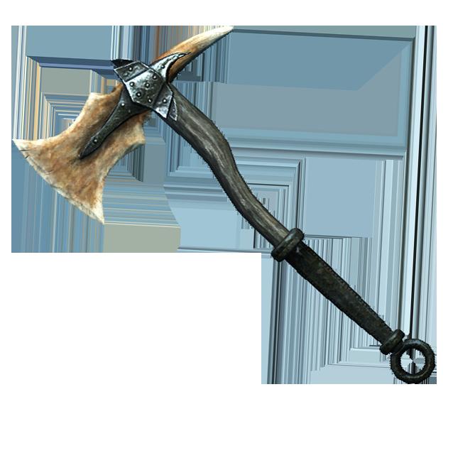 Драконий костяной боевой топор