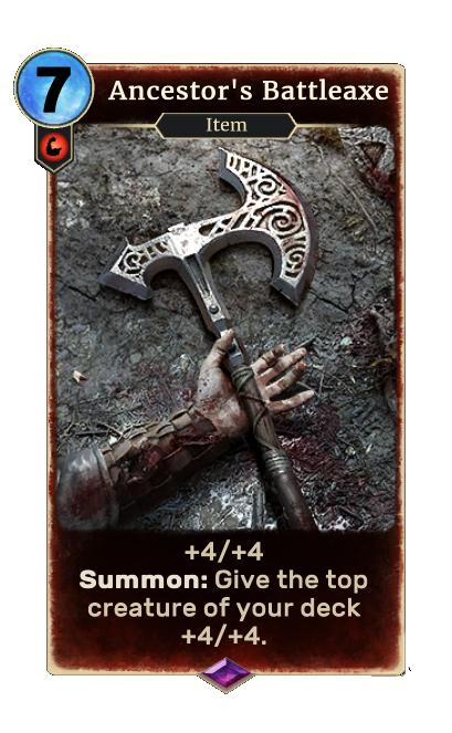 Ancestor's Battleaxe