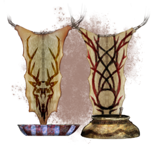 Босмерская посуда (концепт-арт)