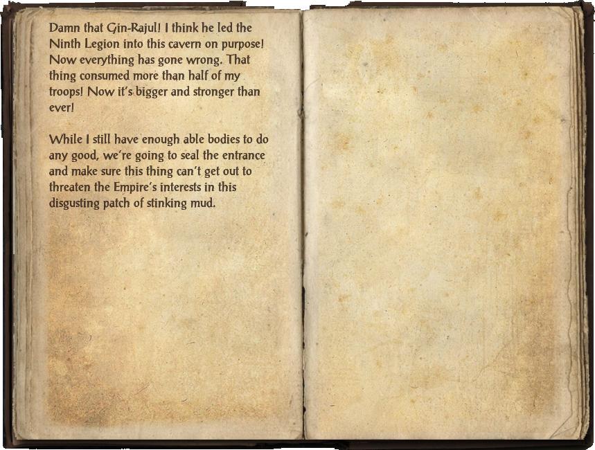 Legion Officer's Journal