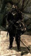Kharjo in ebony armor