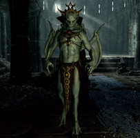 Lord Harkon w postaci wampira (Skyrim)