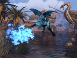 Blue Oasis Dragon Frog (Pet)
