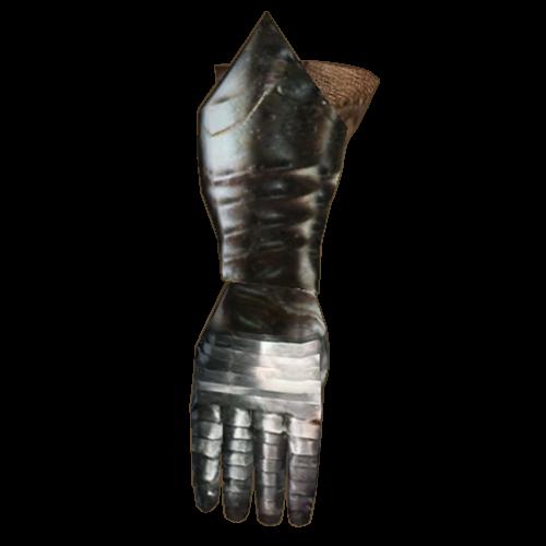 Steel Left Gauntlet