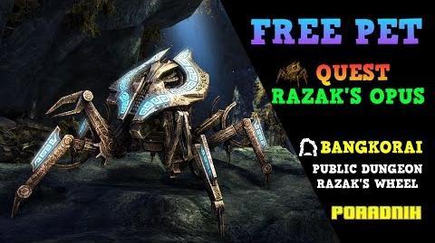 ESO Free Pet Razak's Opus Lokalizacja, Quest, Omówienie