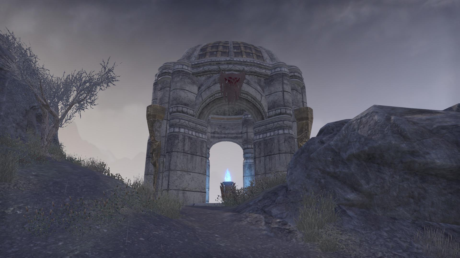 Дорожное святилище Вересковой Скалы