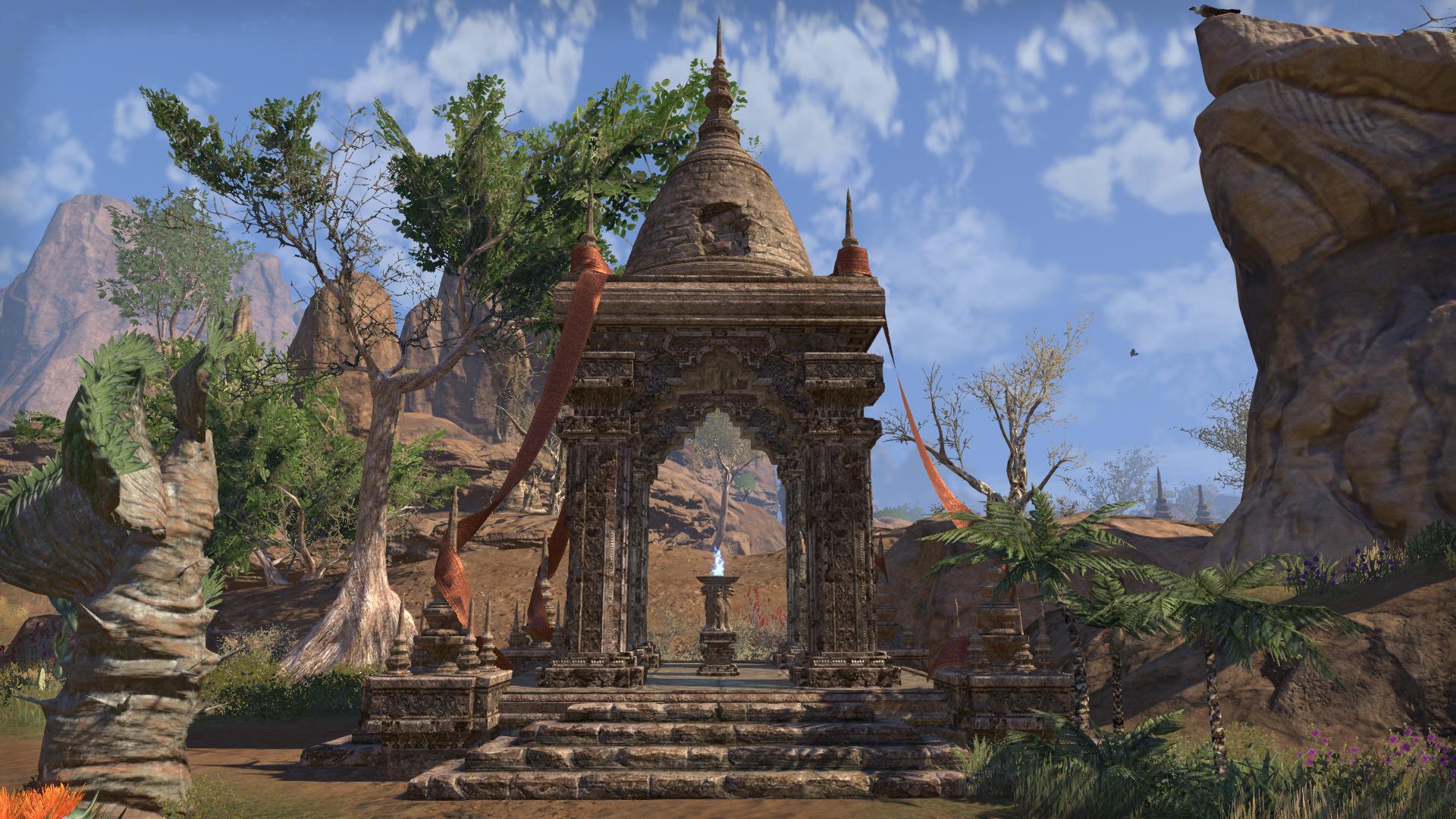 Дорожное святилище окраины Шрама