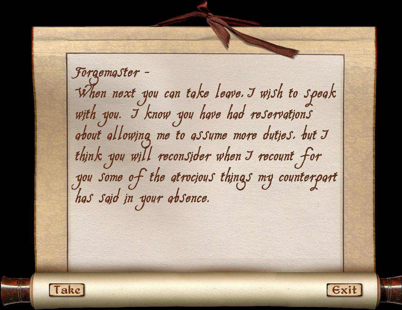 Apprentice's Note