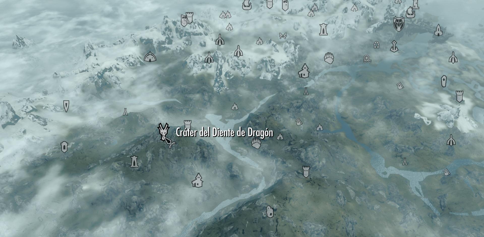 Cráter del Diente de Dragón