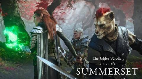 The Elder Scrolls Online Summerset - Официальный видеоролик