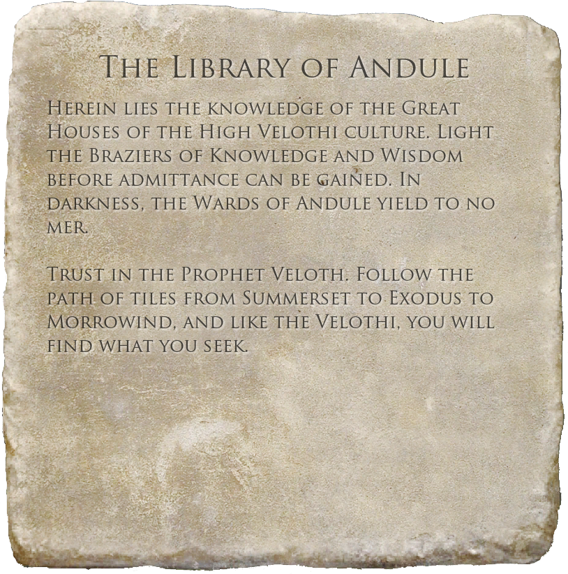 The Library of Andule (Book)