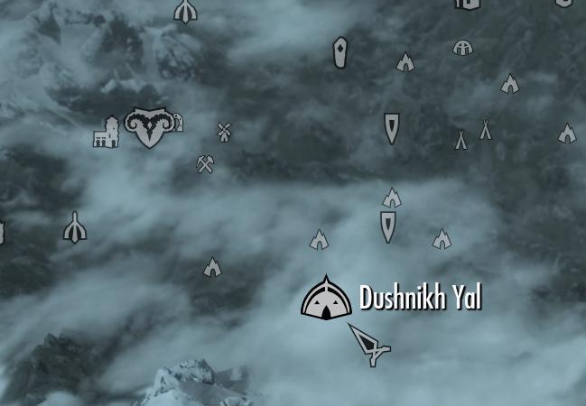 Dushnikh Yal (Skyrim)