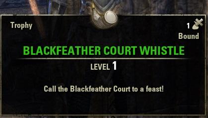 Blackfeather Court Whistle