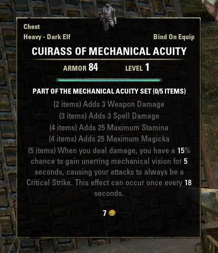 Mechanical Acuity