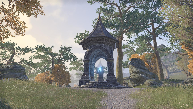 Дорожное святилище крепости Огненного Меча