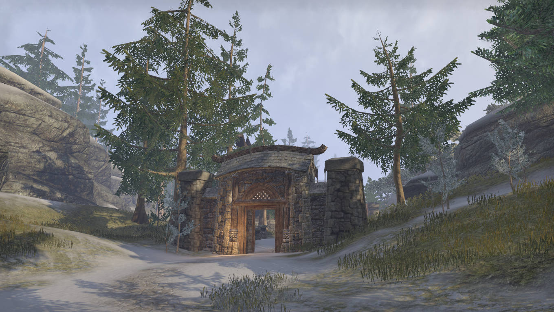 Лагерь горцев