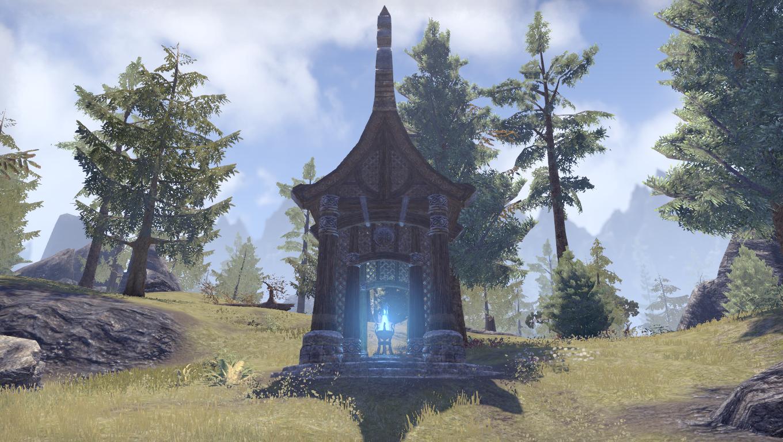 Дорожное святилище лагеря лесорубов