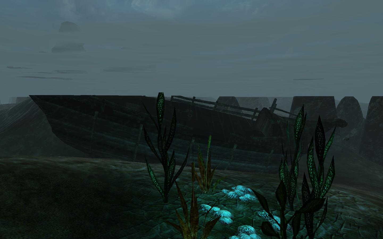 Опустошённые обломки корабля