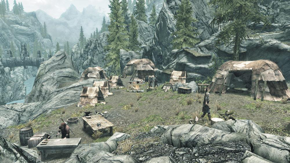 Haafingar Stormcloak Camp