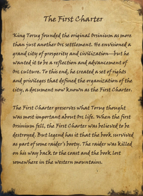 The First Charter (Book)