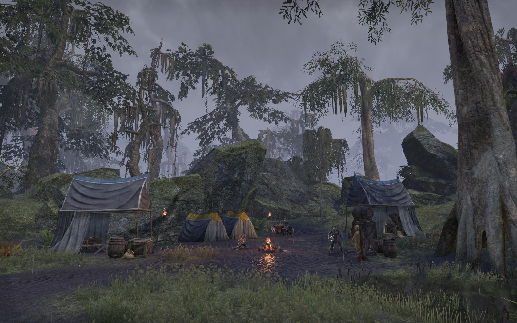 Camp Silken Snare