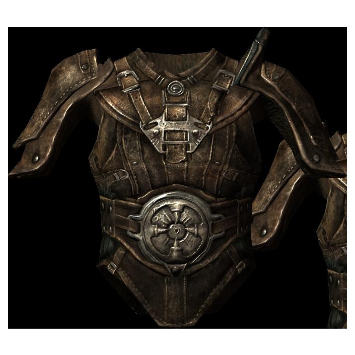 Кожаная броня (Skyrim)