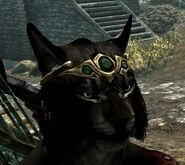 Wearing cowl with circlet