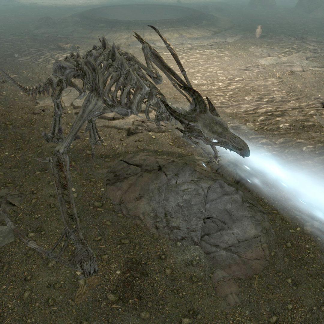 Дракон-скелет (существо)