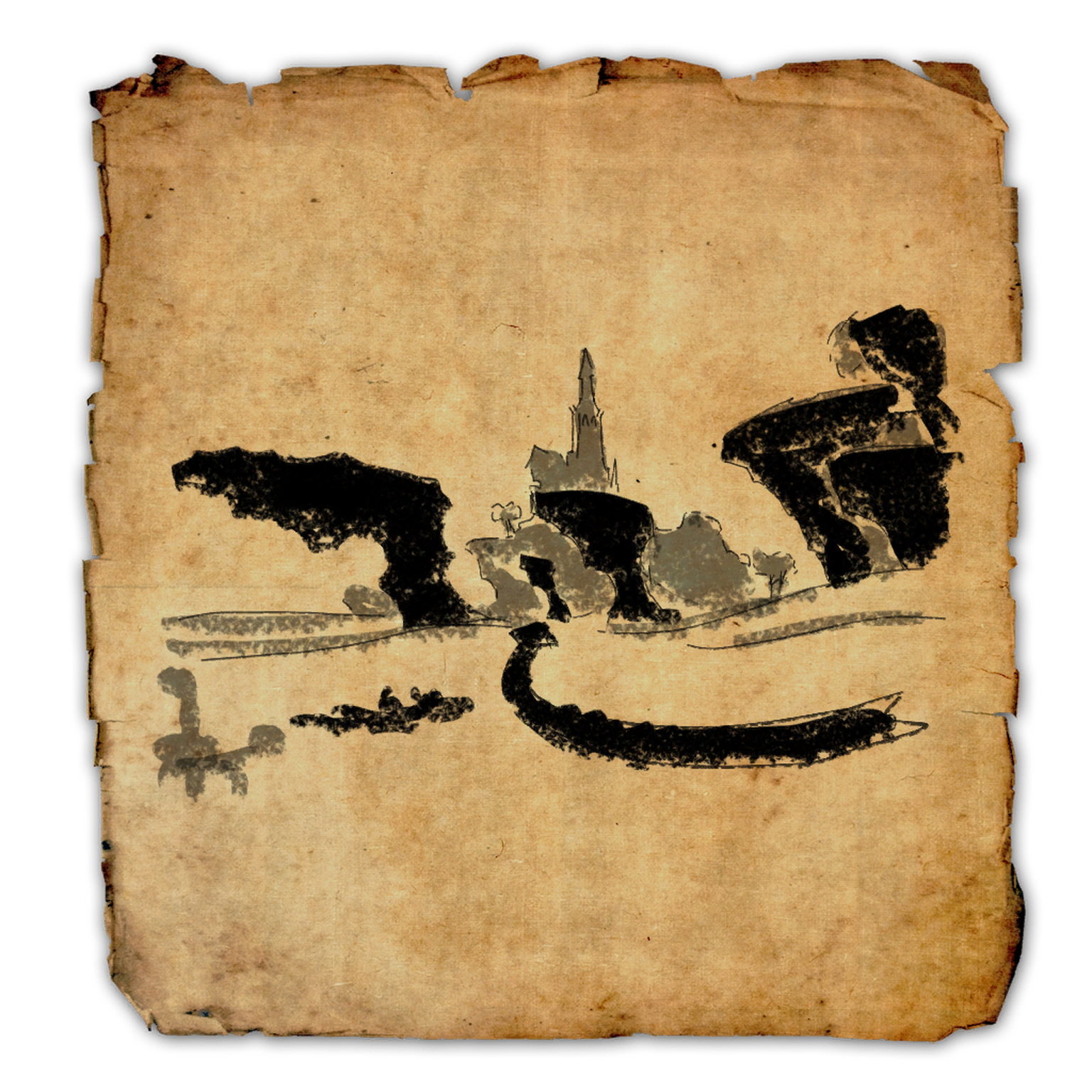 Auridon Treasure Map I