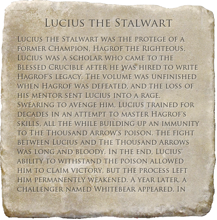 Lucius the Stalwart