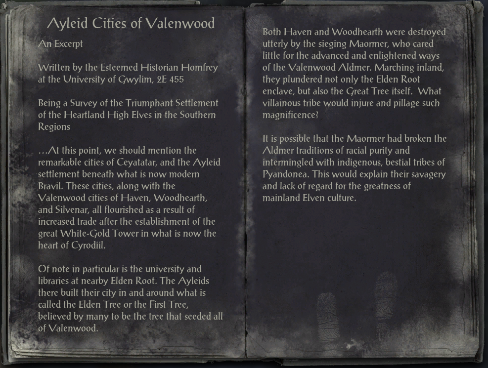 Ayleid Cities of Valenwood