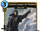Justicia mayor de Thalmor (Legends)