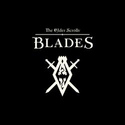 The Elder Scrolls Blades Logo Dark Background.png