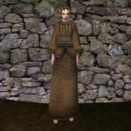 Простая мантия 15 (Morrowind) жен