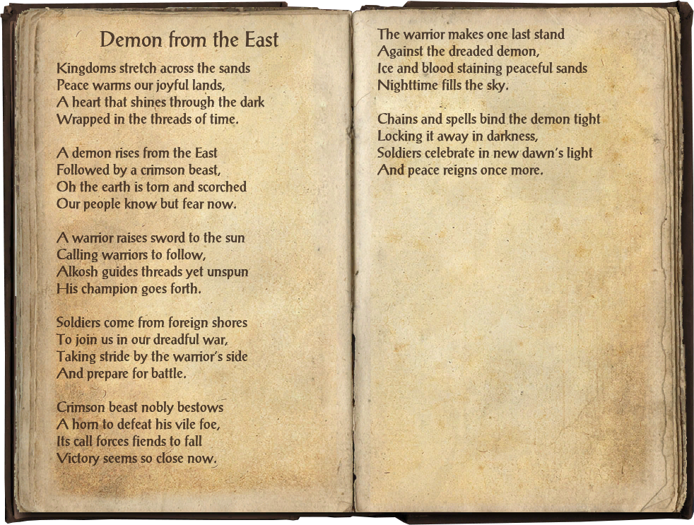 Demon from the East