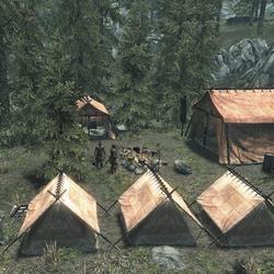Campamento Imperial en Falkreath