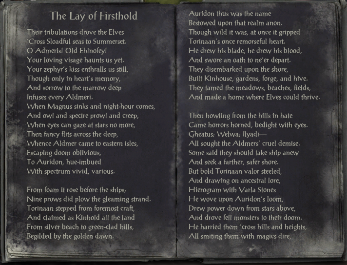 The Lay of Firsthold