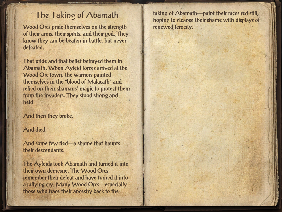 The Taking of Abamath
