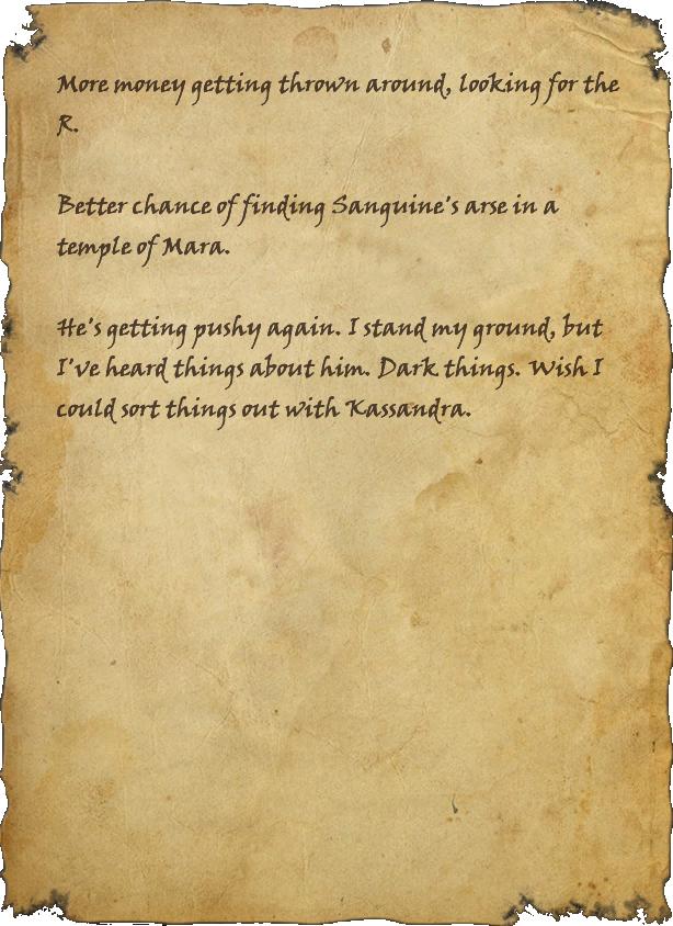 Heetzasi's Journal, Page 1