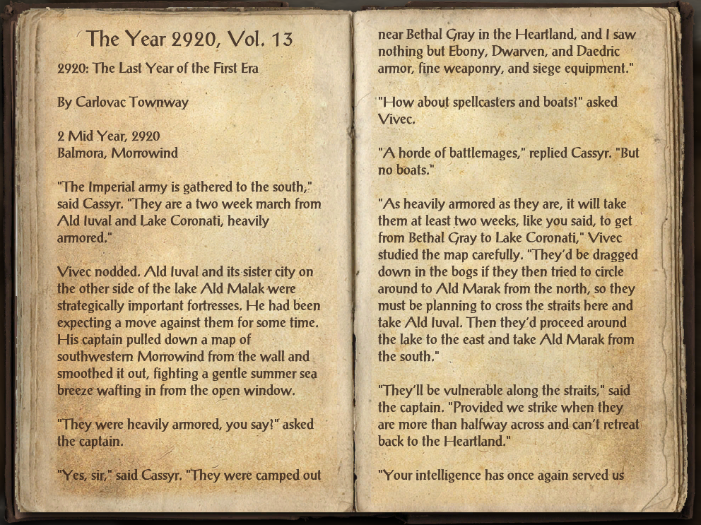 The Year 2920, Vol. 13