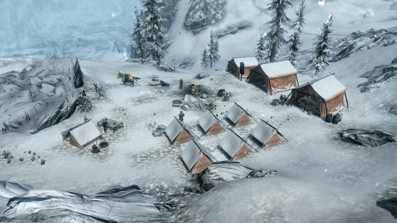 Винтерхолд — Имперский лагерь