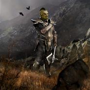Recruit (Orc) card art