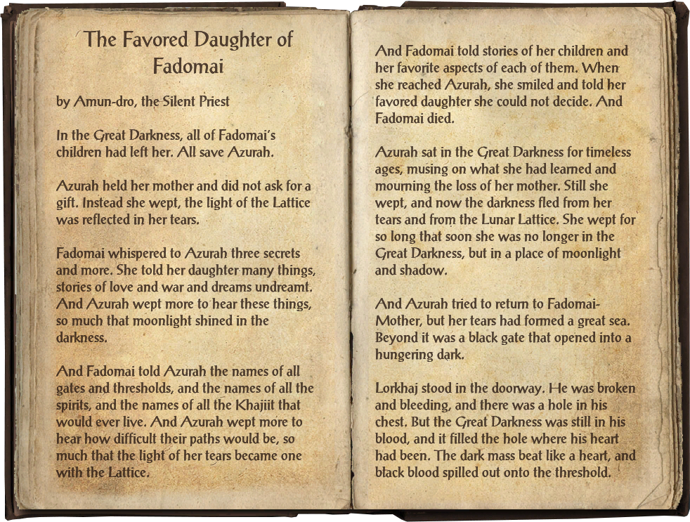 The Favored Daughter of Fadomai