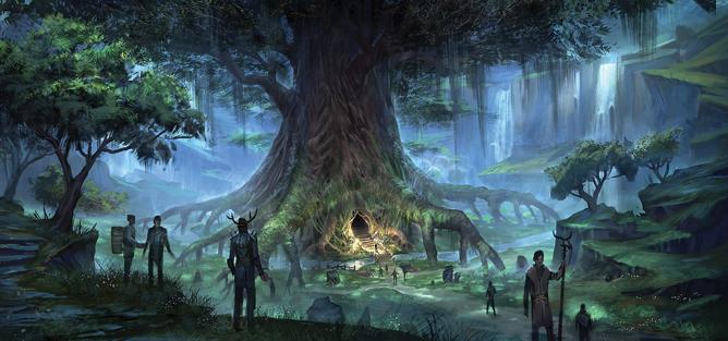 Beldama Wyrd Tree