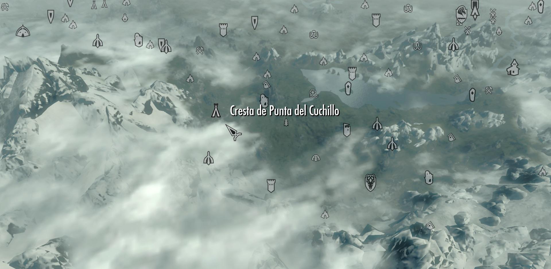Cresta de Punta del Cuchillo