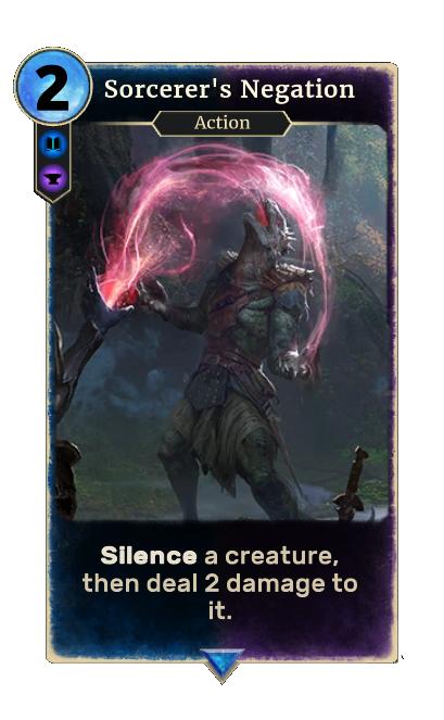 Sorcerer's Negation