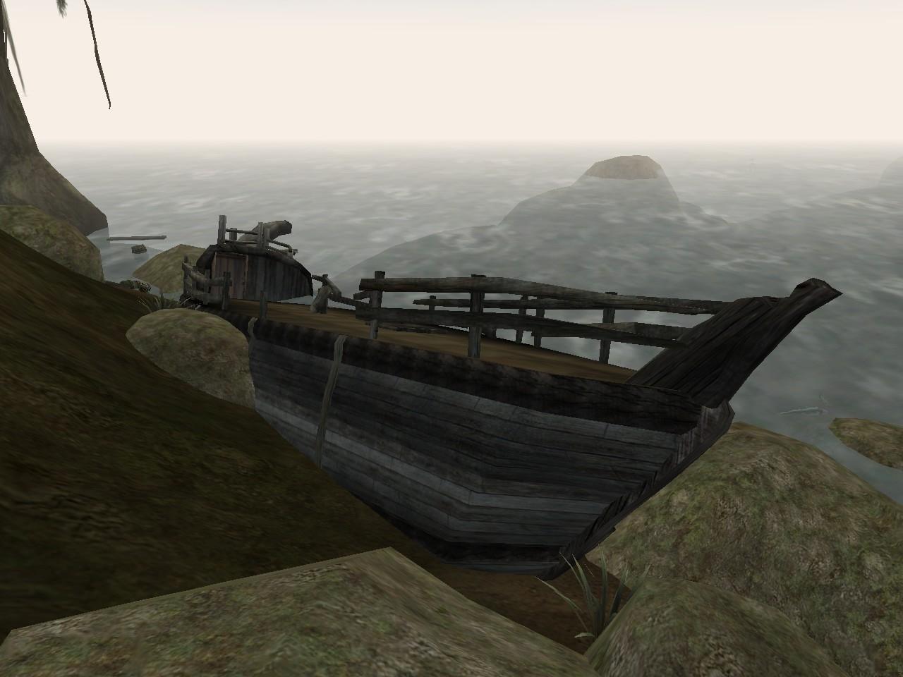 Unexplored Shipwreck