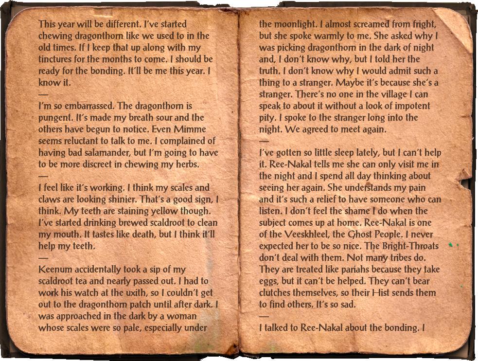 Egg-Tender's Journal