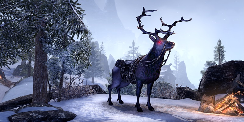 Great Dark Stag