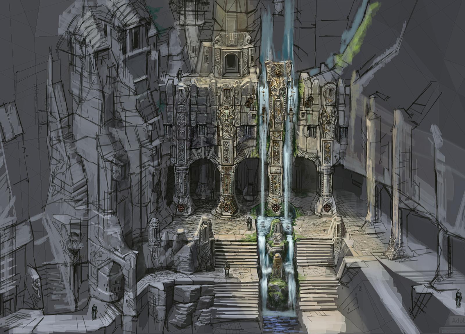 Подкаменная крепость